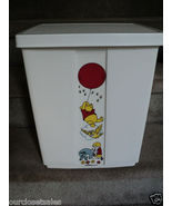 Vintage Sears Disney Winnie the Pooh Sit On Clothes Hamper - 1970's - Nursery - $115.00