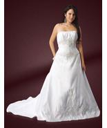Milano Formals style 9247 wedding gown straples... - $150.00