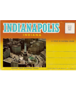 Indianapolis Indiana Vintage Post Card Folio Cu... - $7.00