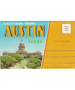Greetings from Austin Texas Vintage Post Card F... - $7.00