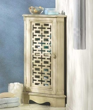 corner cabinet storage shelf wooden bathroom caddies cabinets