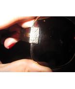 YSL Yves Saint Laurent Brown Gold Mask Sunglasses  - $98.00