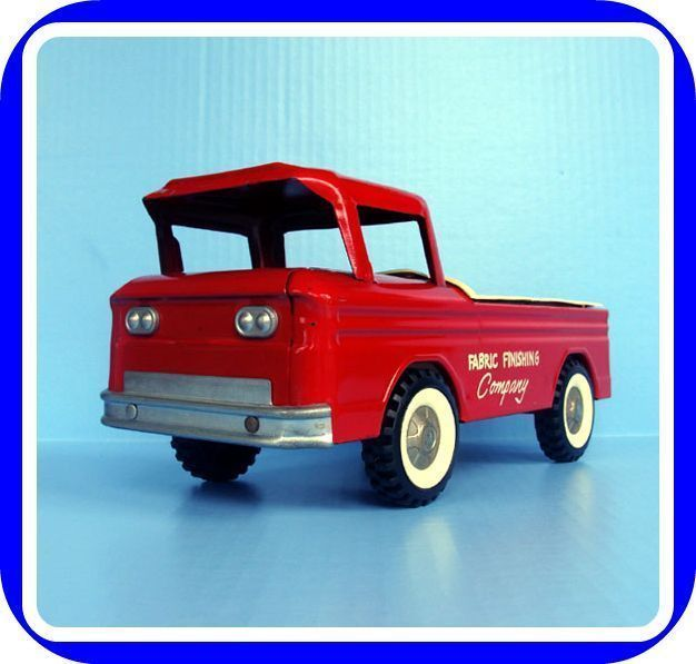 Vintage 1960's STRUCTO Red Pick Up TRUCK Vehicle Toy