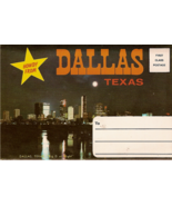 Dallas Texas Vintage Postcard Folio - $7.00