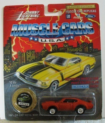 1994 Johnny Lightning 1969 Olds 442
