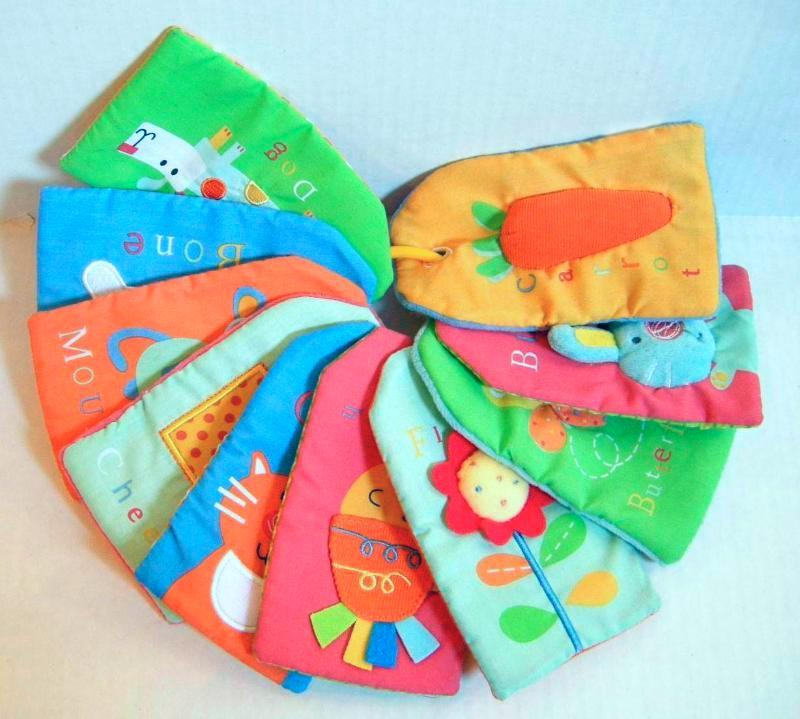 Touch-Me Textured Baby Flash Cards One Step Ahead Infant ...