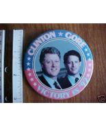 1992 Clinton/Gore Campaign Political Button 3