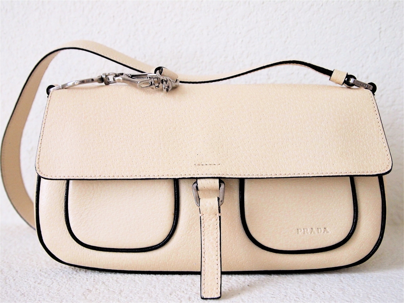 Prada Shoulder Bag in Cream