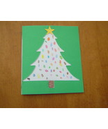 Handcrafted Christmas Tree Blank Card - $3.95