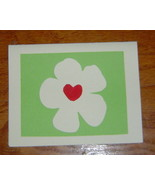 Loving Hearts Flower Card, Handcrafted scrap ha... - $3.95