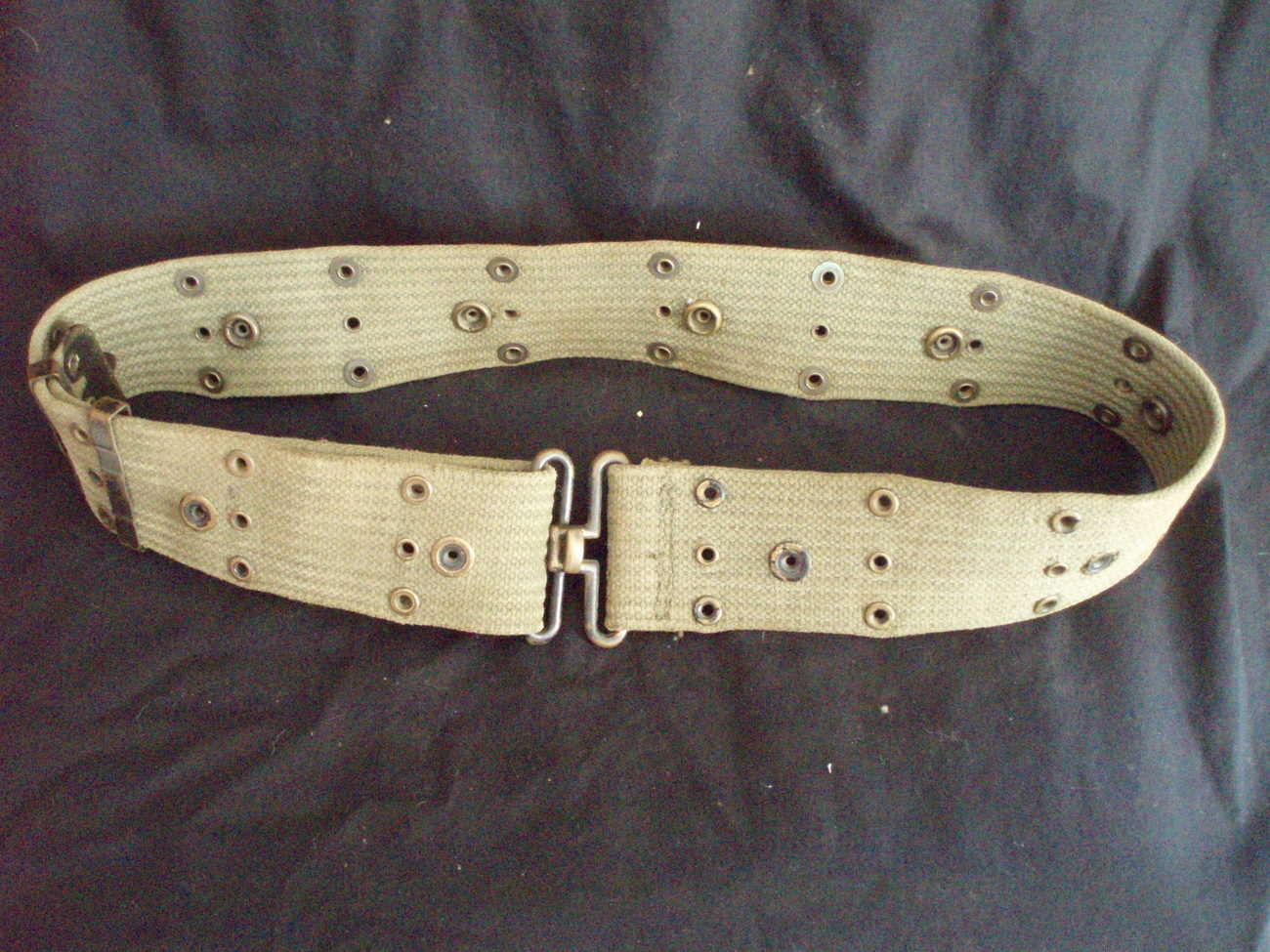 WWII US military pistol belt M1936