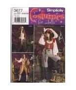 Simplicity 3677 Women Pirate Steampunk Costume ... - $9.95