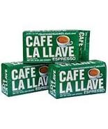 Lot of 3 Cafe La Llave Cuban Espresso 100% Pure... - $19.99
