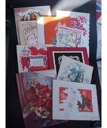 10~40-50s 4 Fold Christmas Card~Scrapbook~Most ... - $3.99