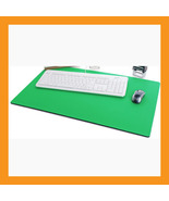 "green large mouse pad 25 x15"" neoprene 6mm padd... - $31.50"