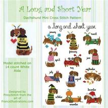 Dachshund A Long and Short Year Round Collectio... - $10.80
