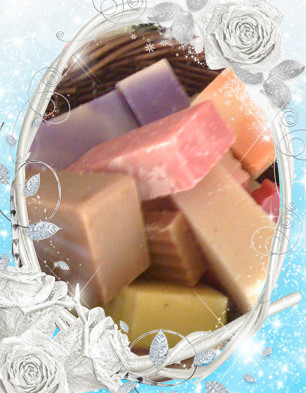 Chunks of Soap  Gift Basket