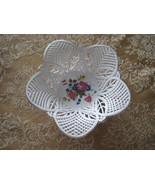 Vintage White Porcelain Lace Bowl  - $19.80