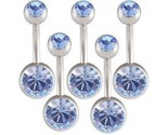 Buy Body Jewelry - Lot 14g Belly Button Navel Rings Bars Body Jewelry BMNT