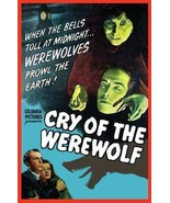 Cry Of The Werewolf 1944 DVD - $8.00