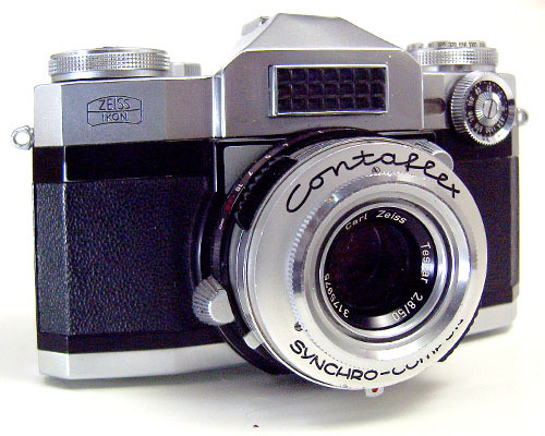 Zeiss Ikon Contaflex Super camera and extra lens