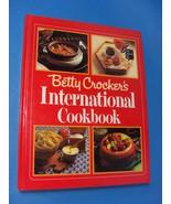 Vintage Betty Crocker's International Cookbook 1980 - $14.95