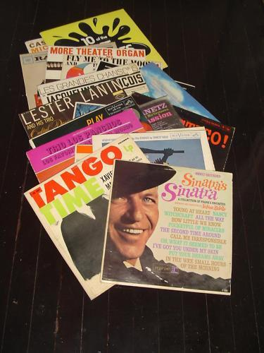 Lot of 20 USED Mixed Vinyl 33 RPM