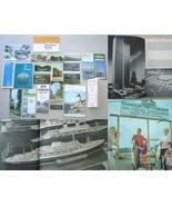 Lot Vintage New England Brochures Maps Postcard... - $13.95