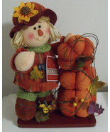 Harvest Treasures NWT Halloween Scarecrow Table... - $18.00