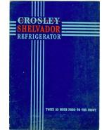 RARE c. 1945 CROSLEY Refrigerator Advertising B... - $5.00