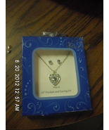 March 18' Pendant and Earring Set - $9.99