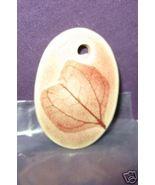 * Leaf imprint ceramic 2