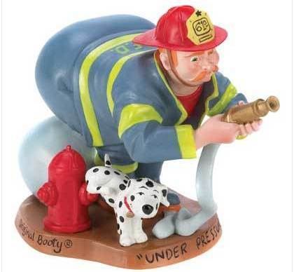 Bootys Firefighter Figurine