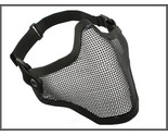 Buy Paintball - HALF FACE METAL MESH PROTECTIVE MASK AIRSOFT PAINTBALL