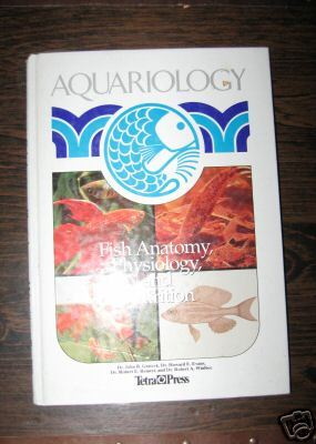 Aquariology aquarium book - Fish Anatomy by Gratzek HC illust