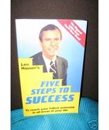 Five 5 Steps to Success by Leo Hauser Motivatio... - $6.45