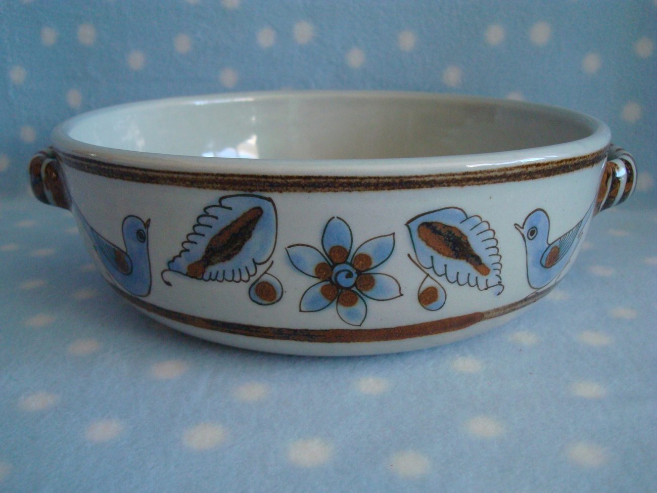 Casserole Mexico El Palomar BlueBird Scorpion mark 9-cup