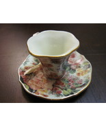 Christmas Ornament China Chintz Tea Cup Teacup ... - $6.99