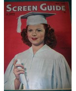 Screen Guide Magazine, May 1945, Shirley Temple