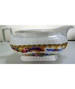 T. Limoges Fine Porcelain Handled & Footed Sauc... - $60.00