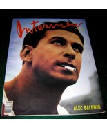 Interview Magazine Oct 1989 Alec Baldwin