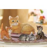 Cat Family Figurines - $10.95
