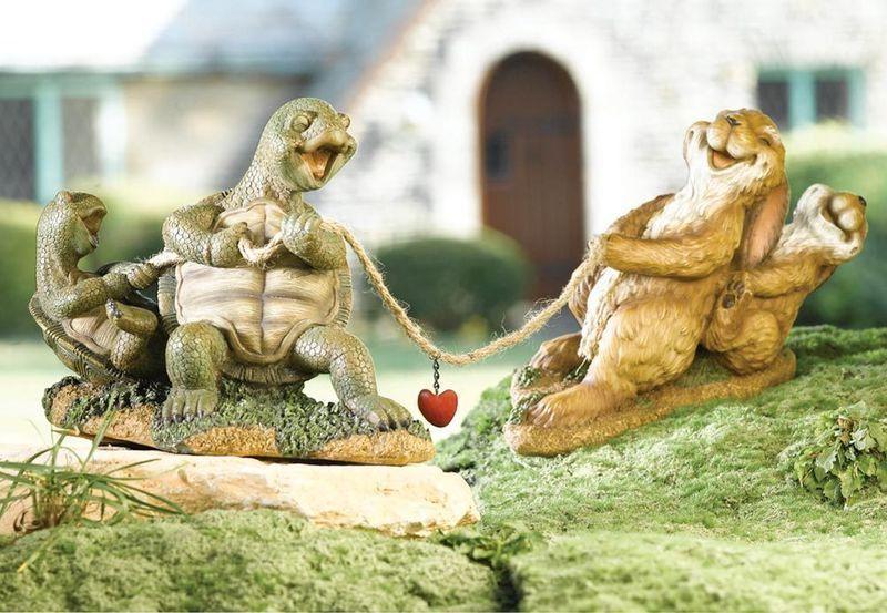 Tug O' War Hare and Tortoise