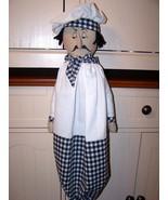 PDF~Chef PierreFolk Art Doll PatternBz - $7.95