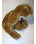 Animal Alley Brown Bunny Rabbit Plush Hare Stuffed Animal Realistic Toys R Us  - $14.98