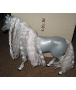 * Barbie Gray Horse w/ White Crimped Hair - $5.00