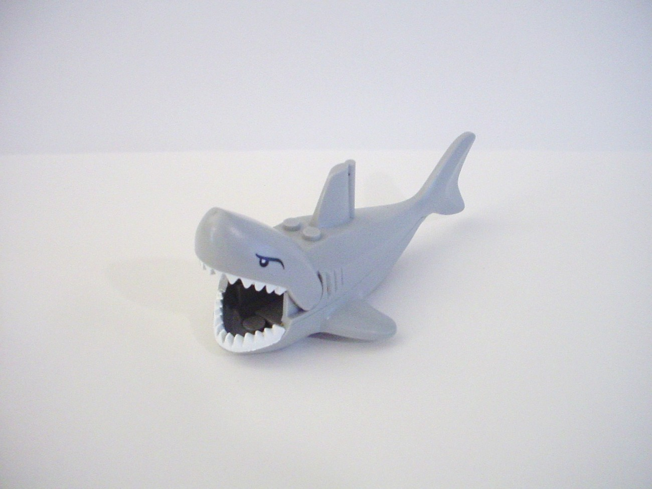 Lego Minifig 5 inch Long Shark Large Mouth and Teeth - LEGO