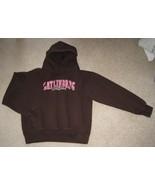 Gatlinburg Tennessee Brown Pink Hoodie Sweatshirt Women's Small FREE SHIPPING - $12.50