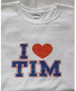 Ladies Tim Tebow Denver Broncos Shirt Size Small - $12.75