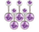 Buy Body Jewelry - Lot 14g Belly Button Navel Rings Bars Body Jewelry BMSY